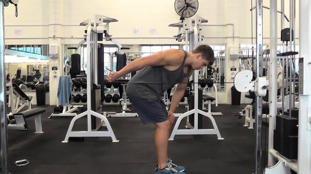 Cable Tricep Kickback
