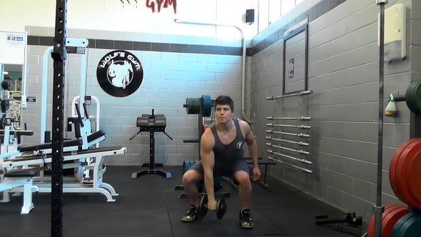 Single Arm Dumbbell Clean & Press