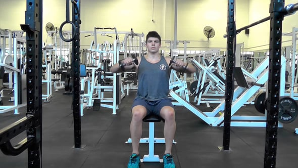 Isolated Lateral Raise