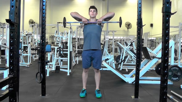 Close Grip Barbell Upright Row