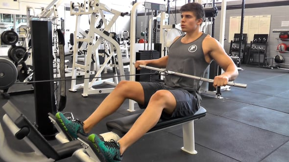 Wide Grip Seated Cable Row