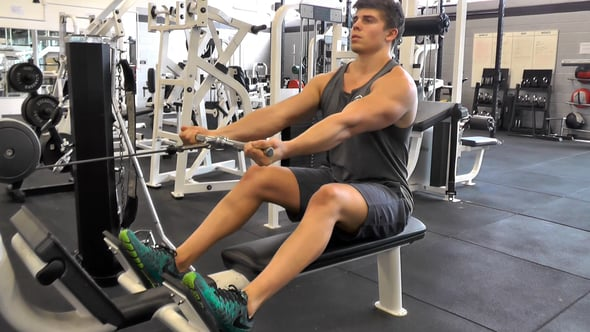 Underhand Seated Cable Row