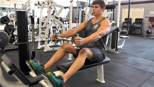 Hammer Grip Seated Cable Row