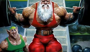 The Merry Xmas Leg Workout